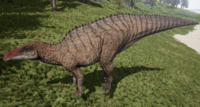 Brown Shantungosaurus The Isle