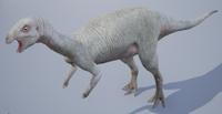 Albino Dryosaurus The Isle