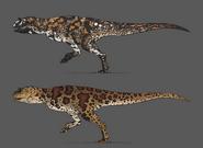 Carnotaurus Concept Art The Isle