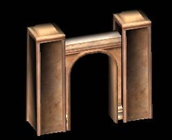 Sandstone Wall Archway