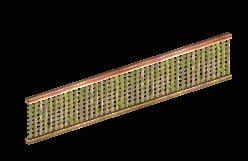 Trellis Wall - 10 meters