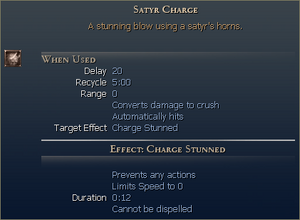 Satyr Charge