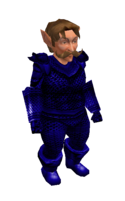 Blue Mithril Chainmail Armor
