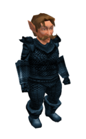 Steel Blue Mithril Chainmail Armor