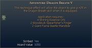 Adventure Dragon Breath V