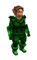 Green Mithril Chainmail Armor