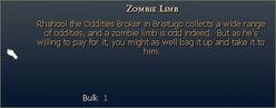 Zombie Limb
