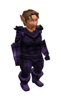 Purple Mithril Chainmail Armor