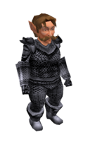 Silver Mithril Chainmail Armor