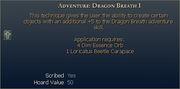Adventure Dragon Breath I