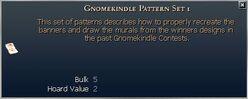 Gnomekindle Pattern Set 1