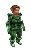 Light Green Mithril Chainmail Armor