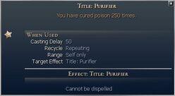 Title Purifier
