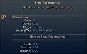 Sslik Regeneration