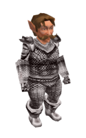 White Mithril Chainmail Armor