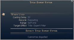 Title Expert Fitter