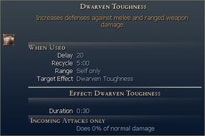 Dwarven Toughness