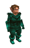 Turquoise Mithril Chainmail Armor
