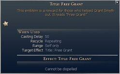 Title Free Grant