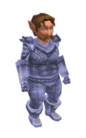 Radiant Mithril Chainmail Armor