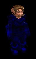 Dark Blue Mithril Chainmail Armor