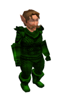 Dark Green Mithril Chainmail Armor