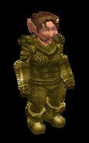 Light Khaki Mithril Chainmail Armor