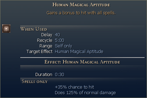 Human Magical Aptitude