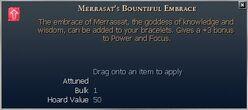 Merrasat's Bountiful Embrace