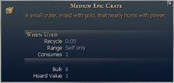 Medium Epic Crate