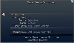 Title Expert Outfitter