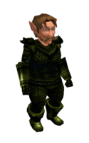 Antique Green Mithril Chainmail Armor