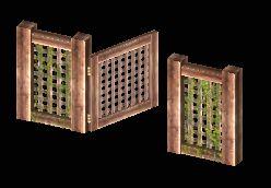 Trellis Wall - Gate