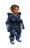 Light Blue Mithril Chainmail Armor