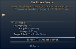 The riddle solver