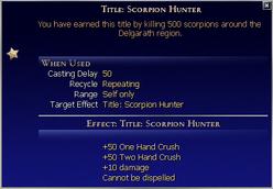Title Scorpion Hunter