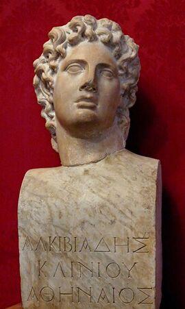 359px-Bust Alcibiades Musei Capitolini MC1160