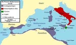 First Punic War 264 BC