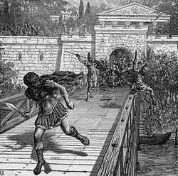 Gaius Gracchus Flees