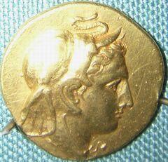 Agathocles coin