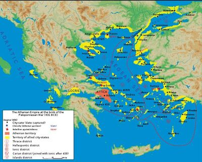 Map athenian empire 431 BC-en