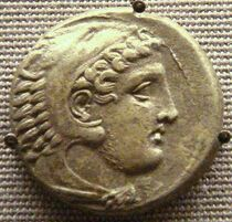 626px-Coin of Perdiccas III with figure of Herakles