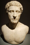 409px-Cremona, museo civico, busto di quinto labieno partico, primi decenni del ii secolo d.c. 01