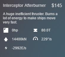 Afterburner Stats