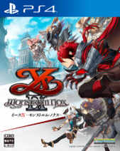 Ys IX PS4 Cover