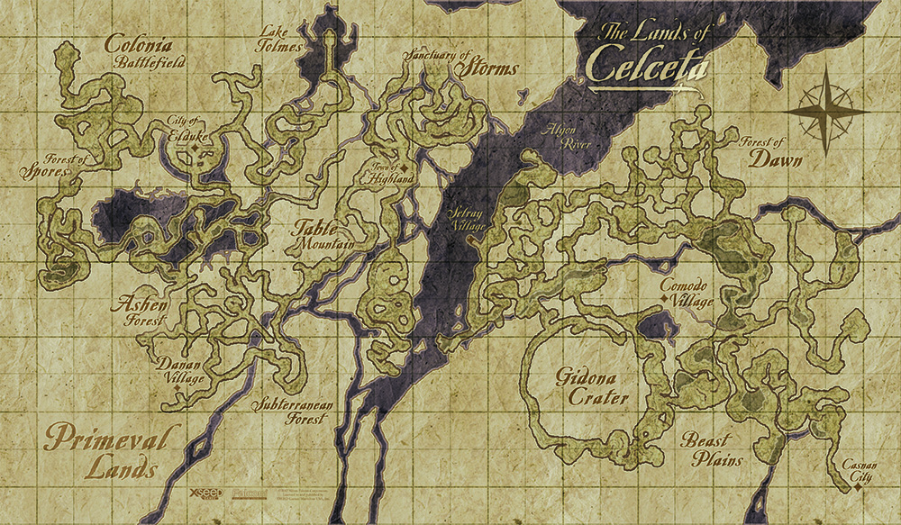 Image   Memories of Celceta Map. | Ys Wiki | FANDOM powered by