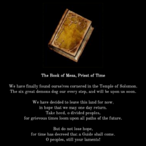 4 - Book of Mesa