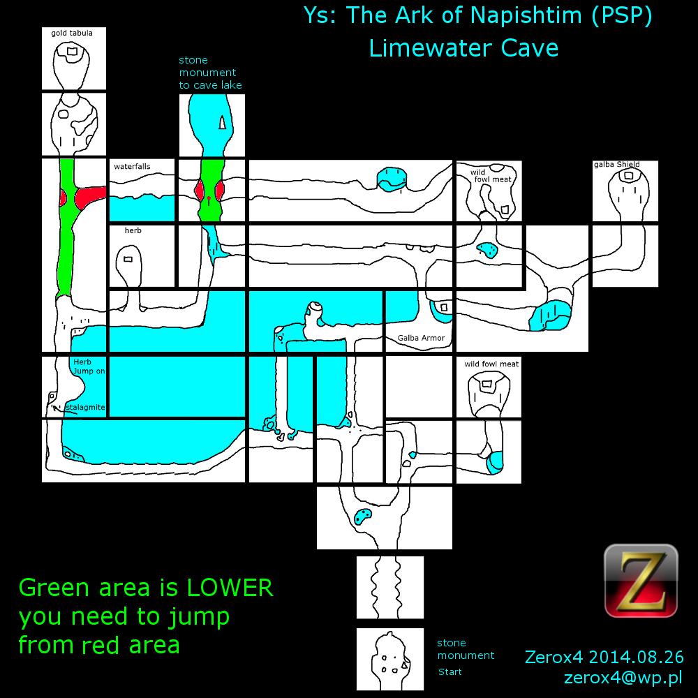 Limewater Cave | Ys Wiki | FANDOM powered by Wikia
