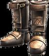 Ys Origin Leather Greaves