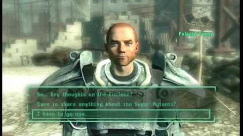 Fallout 3 how to get power armor training early